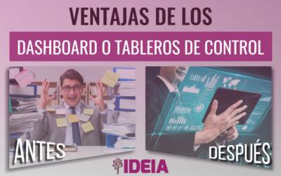 Ventajas de los Dashboard o tableros de control para las empresas