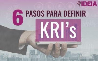 6 Pasos para definir KRI's