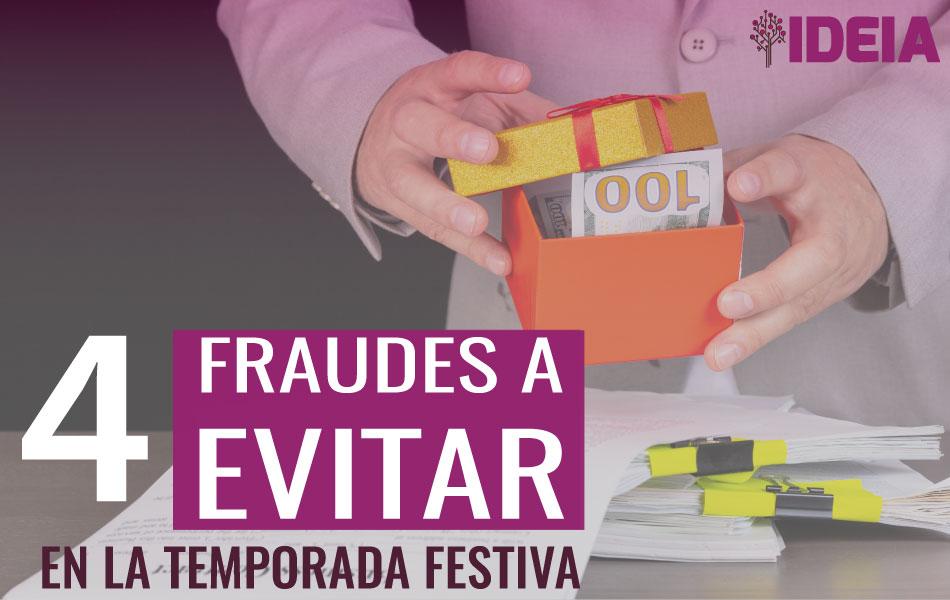 Prevención de fraudes en épocas festivas