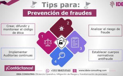 Pasos para implementar un Plan de Prevención Antifraude